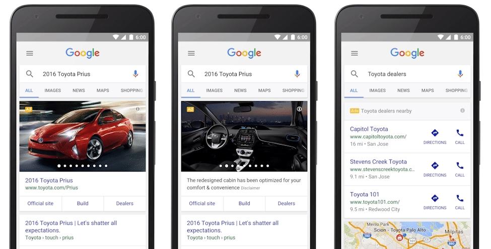 marketing online ngành ô tô