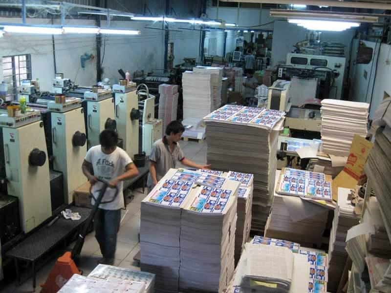 marketing online in ấn