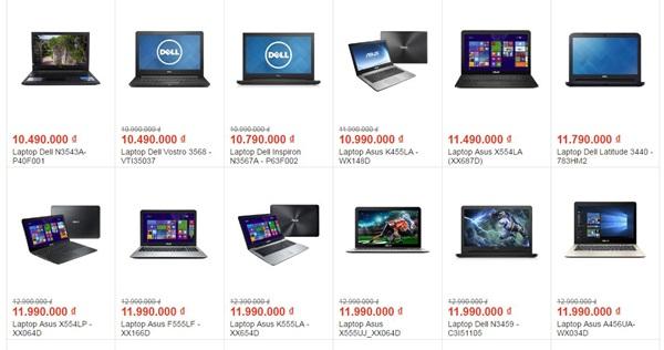 marketing kinh doanh laptop online