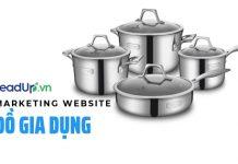 marekting website đồ gia dụng