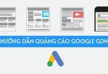 hướng dẫn quảng cáo google gdn
