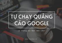 tự chạy quảng cáo google